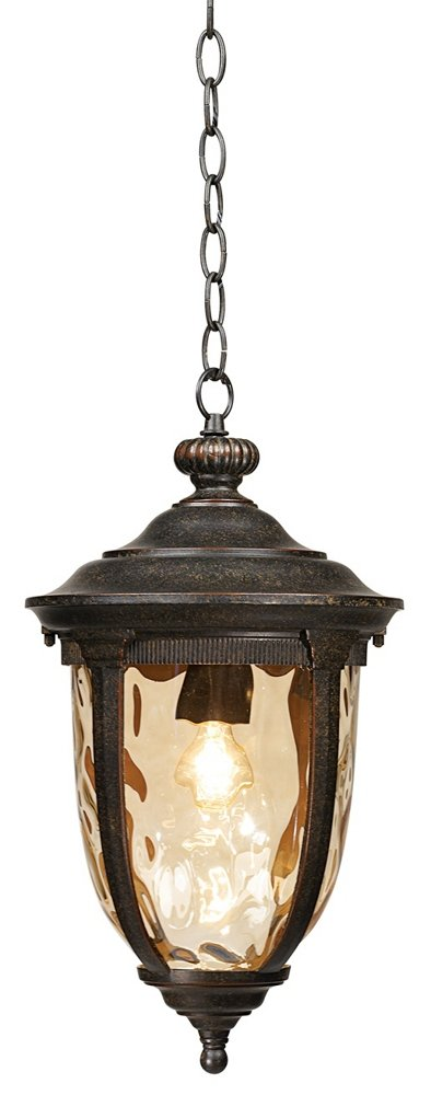 Bellagio Collection 18'' High Bronze Outdoor Hanging Light