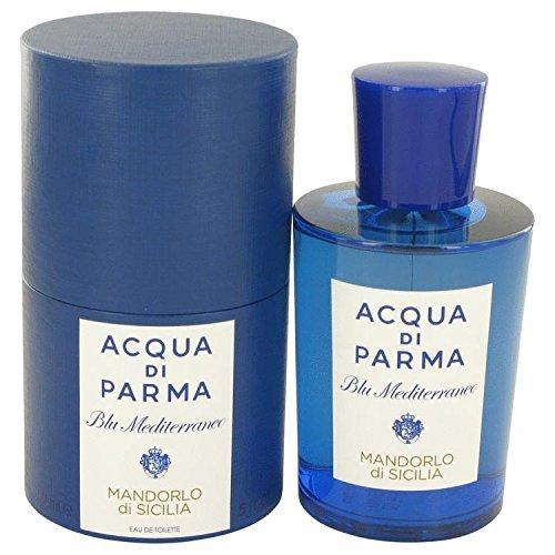 Blu Mediterraneo Mandorlo Di Sicilia by Acqua Di Parma Eau De Toilette Spray 5 oz for Women - 100% Authentic