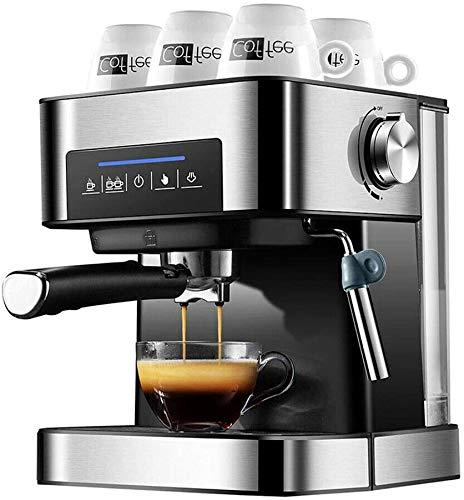 Máquina de café Espresso, cafetera y Capuchino, máquina de café para Uso doméstico Cafetera de Taza Máquina de café…