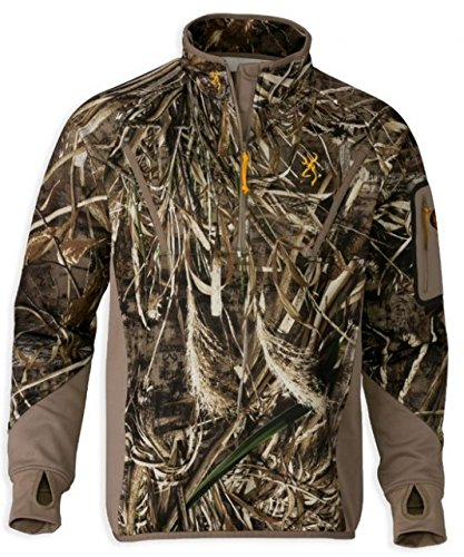 Browning Parka - Browning Wicked Wing Smoothbore 1/4 Zip Pullover (Max-5, 2XL)
