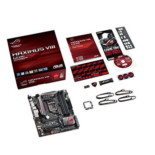 889349124895 - ASUS ROG MAXIMUS VIII GENE LGA1151 DDR4 M.2 SATA 6Gb/s USB3.1 Type A Type C Intel  Z170 mATX Motherboard carousel main 6