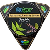 GoAyur Neem Tulsi Ayurvedic Post Stretch Marks Cream, 6 oz, Herbal Body Moisturizer, Paraben Free, 100%  Actives, Natural Fragrance Review