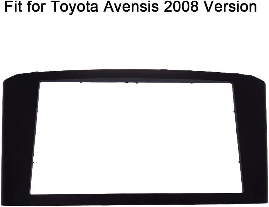 Panneau audio st/ér/éo 2 DIN pour autoradio To-YOTA Avensis 2008