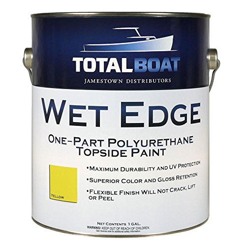 TotalBoat Wet Edge Topside Paint (Yellow, Gallon)