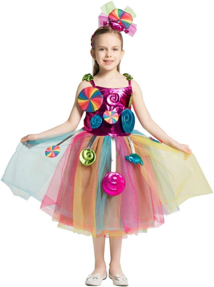 XYFW Disfraz De Vestido De Caramelo De Halloween para Niños ...