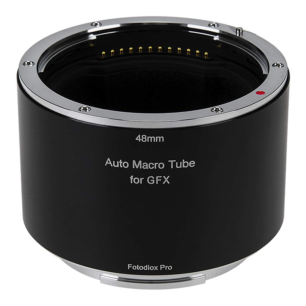 Fotodiox Pro Automatic Macro Extension Tube, 48mm Section Compatible with Fujifilm GFX G-Mount Cameras for Extreme Close-up Photography