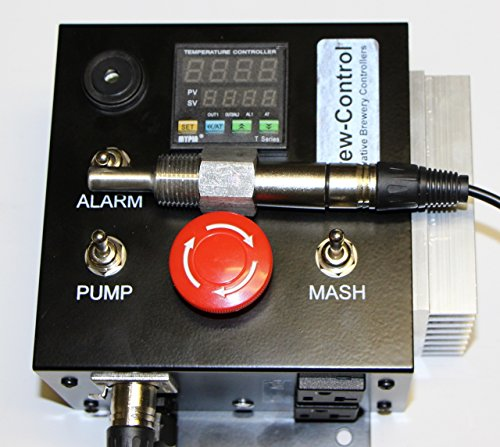 (120v Electric Mash Tun/RIMS (Recirculating Infusion Mash System) Tube Controller with 20A twist lock outlet and pump control)
