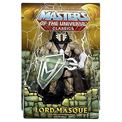 Masters of the Universe Classics Lord Masque Action Figure (Mattel Toys): Toys & Games