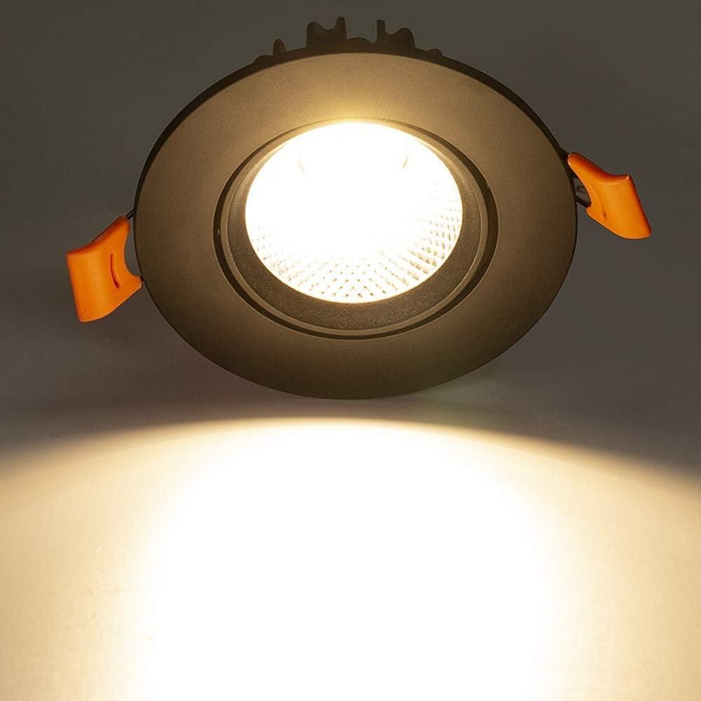 Downlights Led Lights Verzonken Plafond Woonkamer Cob Spotlight Verlichting Verzonken Led Downlight Indoor Energy Saving Plafondpaneel