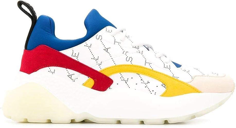 Moda Stella Mccartney Mulher 491514W1TL59035 Blanco Algodon Zapatillas   Estacão Outlet: STELLA MCCARTNEY: Amazon.es: Zapatos y complementos