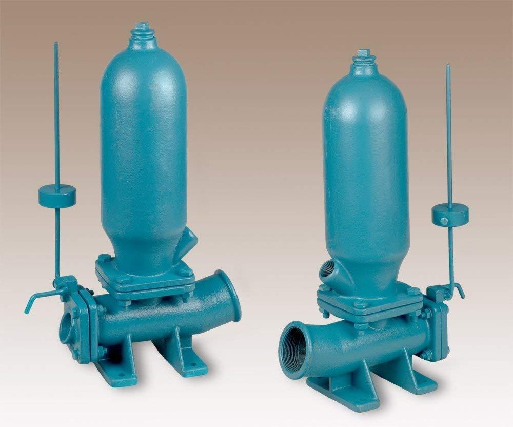 FUXUS/® Hydraulischer Widder Wasserpumpe Wasserwidder alternative Pumpe Sto/ßdruckheber Wasserpumpe mit Wasserkraft