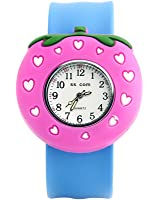 Cute Kids Toddler Girls Slip On Band Watch Packed in Gift Box