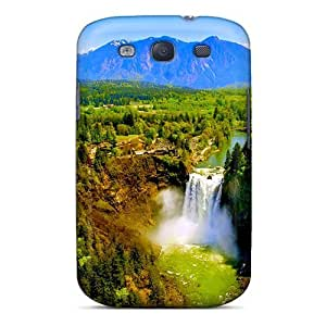 Series Skin Case Cover For Galaxy S3(snowqualmie Falls) by supermalls