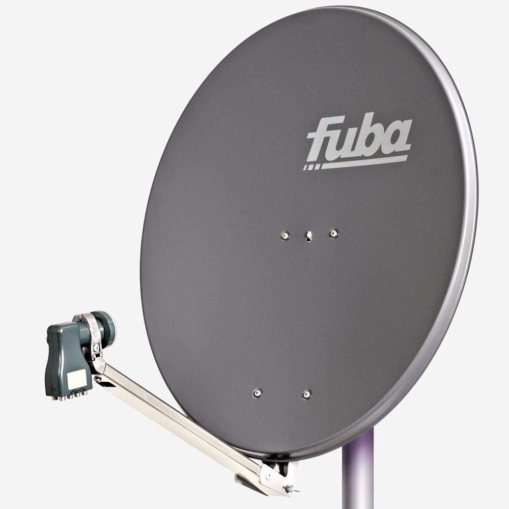 LNB DAL Kit Complet pour Satellite Fuba DAL 800 en Aluminium