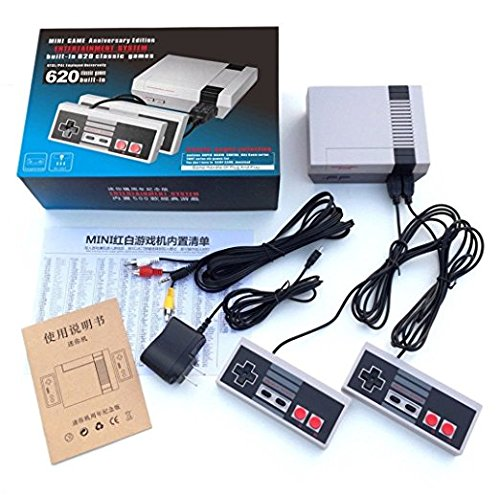 Installed System (ShareFun Mini Game Entertainment System Handheld Console For Nes Games With 500/620 classic games Different Built-in Games Video Game System (620 Gmaes))