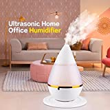 Srxes 5V USB Ultrasonic Home Aroma Humidifier Air Diffuser Purifier Atomizer with Light
