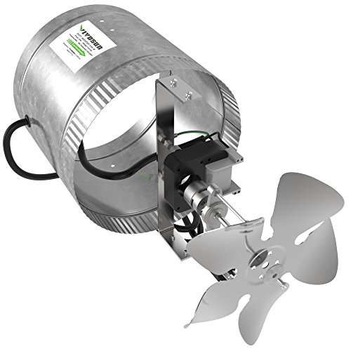 Heating Duct Booster Fans : Vivosun inch inline duct booster fan cfm low noise