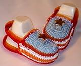 Crochet NB Stars and Stripes Sandles