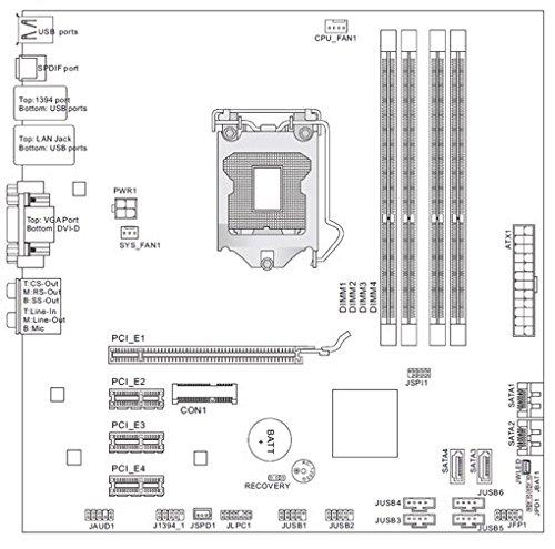 Amazon in: Buy HP 1ST GENERATION MS-7613 Desktop Motherboard