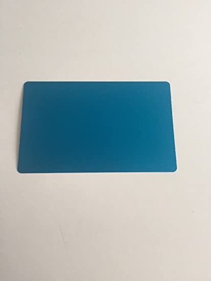 Amazon 100 anodized aluminum business card blanks laser 100 anodized aluminum business card blanks laser engraver and cnc engraving color options available colourmoves