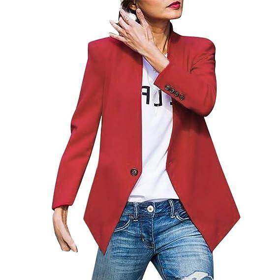 Camisas Mujer Blusas de Moda Blazer de Mujer Talla Grande ...