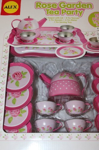 - Alex Rose Garden Tea Party 15 Piece