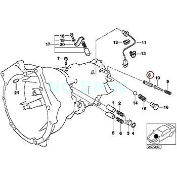 Amazon Com Bmw Genuine Locking Pin Automotive
