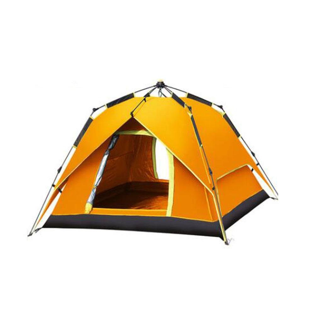 3 4 Personen Zelt Familien camping Zelt camping Double Sport Kuppelzelt, schnell öffnende wasserdichte Anti UV