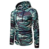 Corriee Fashion Tops for Men 2018 Classic Cotton Long Sleeve Camouflage Slim Fit Pullover Hoodies Casual Hooded Sweater