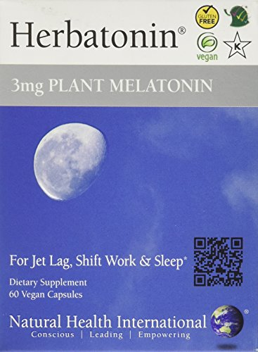 Herbatonin-3mg-Plant-Melatonin-60-Capsules-for-Sleep-Travel-Shift-Work