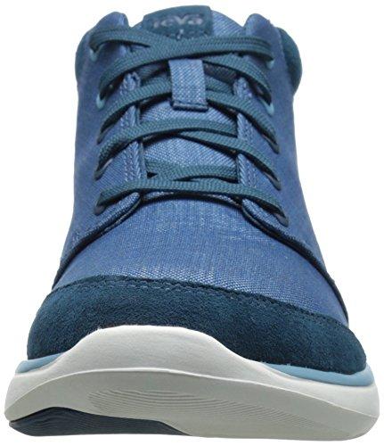Teva Women's Wander Canvas Lace-up Boot Legion Blue RPRiAfymf6