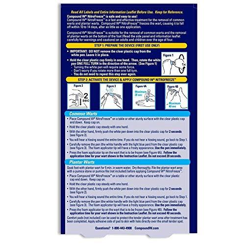 Compound W Removal System NITROFREEZE 1 Nitrofreeze 5 Tips