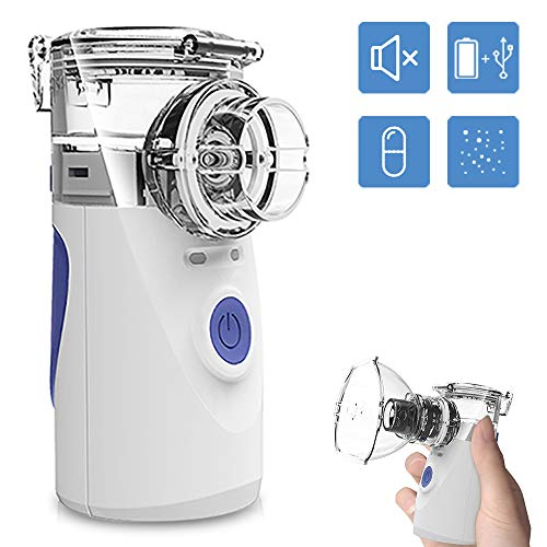 Portable Mini Vaporizers Machine 2019 Upgrade Handheld Steam Compressor Humidifier Vaporizer Cool Mist Inhaler Kits for Adults & Kids ()