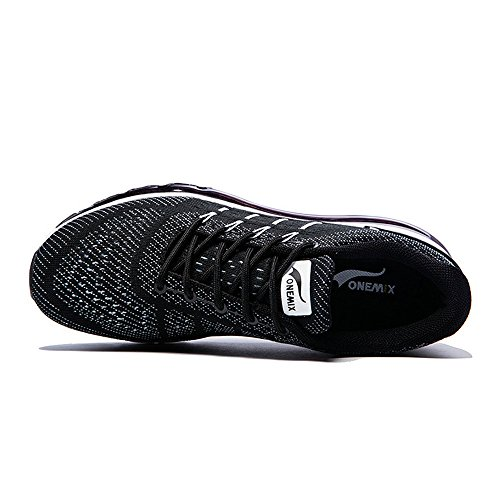 Black Gym Onemix Chaussures Baskets Sport Fitness Course Air White Homme nqqS7CwxZ1