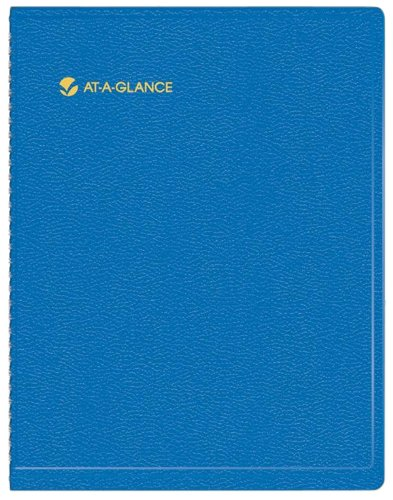 AT-A-GLANCE Recycled Fashion Monthly Planner, 9 x 11 Inches, Blue, 2013/2014 (70-250-20) 2013 Large Monthly Planner
