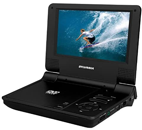 Sylvania 7-Inch Portable DVD Player (Black)