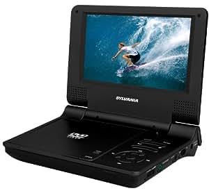 Sylvania 7-Inch Portable DVD Player (Black)