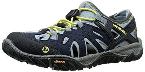 Merrell Women's All Out Blaze Sieve Water Shoe, Blue, 7.5 M US