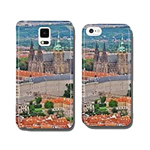 Prague, view from Petrin to Castle and Cathedral cell phone cover case Samsung S6
