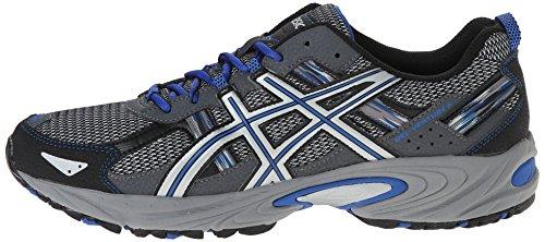 ASICS Men's Gel Venture 5 Running Shoe, Silver/Light Grey/Royal, 10.5 M US by ASICS (Image #5)