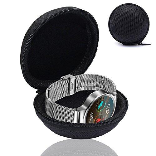 MOELECTRONIX Smartwatch Fitnesstracker Armband Uhr Tasche Schutz Hülle Etui Box Case passend für Samsung Galaxy Watch…