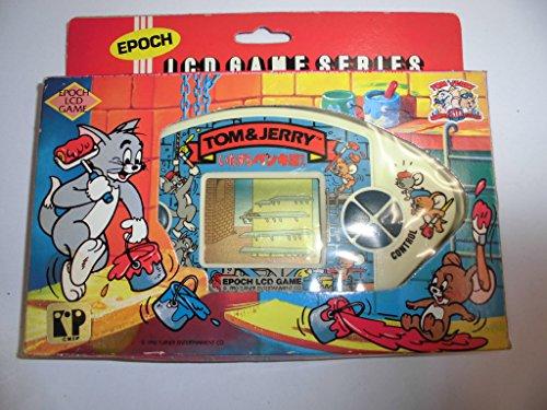 エポック LCDゲーム TOM&JERRY トムとジェリー いたずらペンキ屋さん