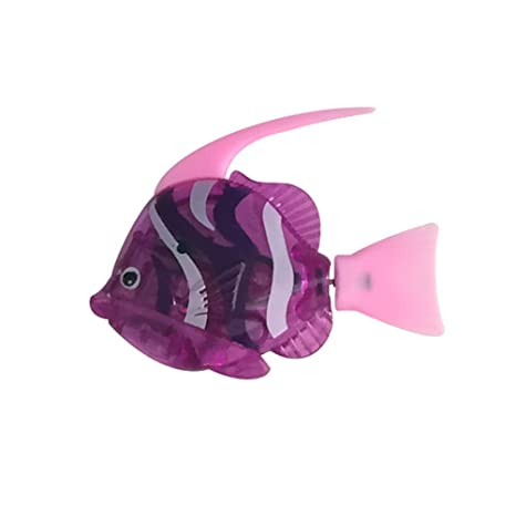 Toymytoy Robot Fish Artificial Moving Floating Fishes Ornament Toy