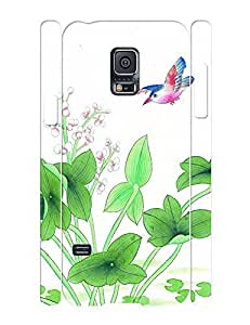 Special Cool Phone Accessories Flowers and Birds Hard Plastic Case Cover for Samsung Galaxy S5 Mini SM-G800