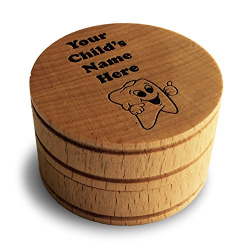 Personalized Memento Dream Keepsake Baby Tooth Box