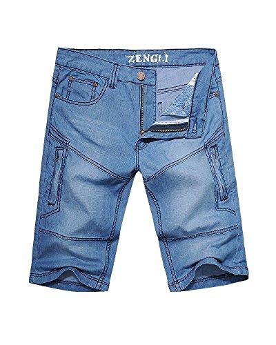 Summer Denim Shorts Multi Pockets product image