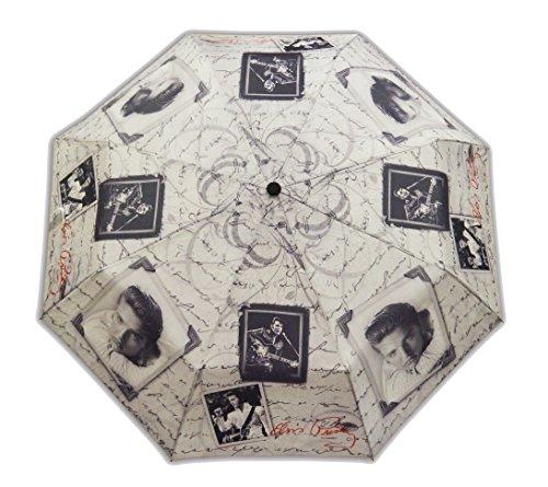 (Elvis Presley Foldabld Umbrella Frames with Letters)