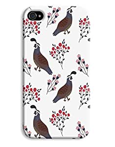 Birds & Fruit Case for your iPhone 4/4s