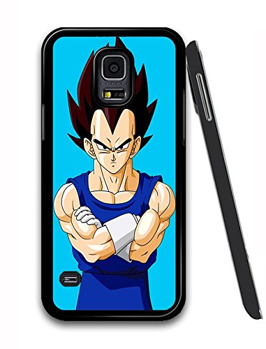 Meeruea Galaxy S5 Cover Dragon Ball Z Vegeta Quote Anime Manga