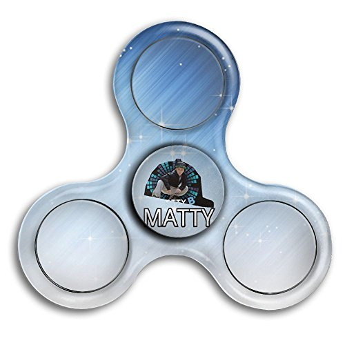 Price comparison product image Marcus Roberta Cool Matty B Raps Tri-Spinner Fidget Toy Hand Spinner Bearing Stress Boredom Awesome Skills